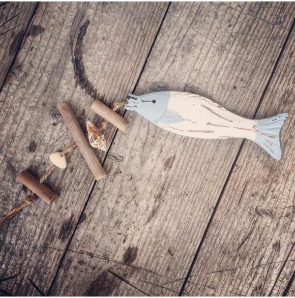 Dekoračná rybka White
