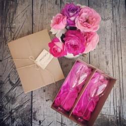 Darčekový set Vychutnávam si život - ružový