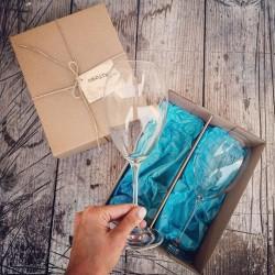 Darčekový set Vychutnávam si život - modrý
