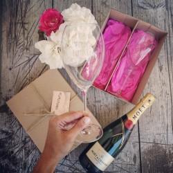 Darčekový set Ľubím bublinky - ružový