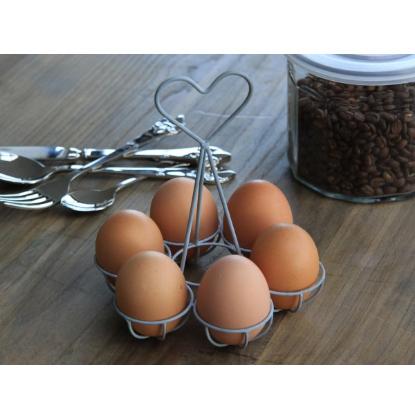 Stojan na vajíčka Srdiečko
