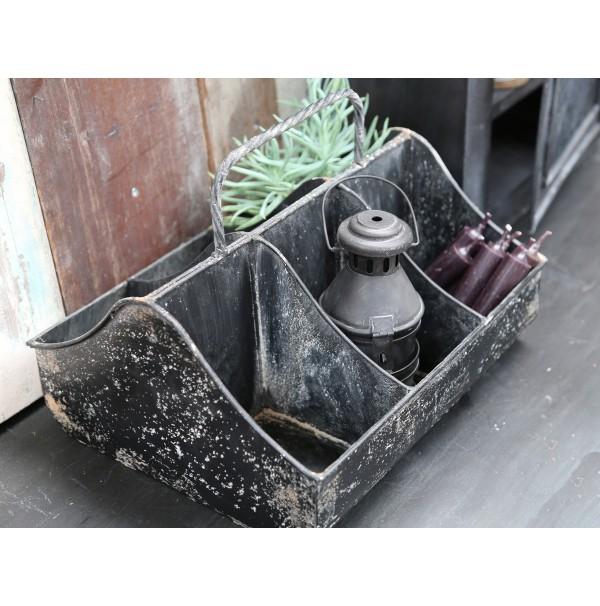 Kovový box Industrial Black