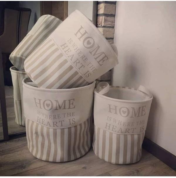Textilný box HOME - malý