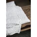 Bavlnený prehoz Grey Stripes