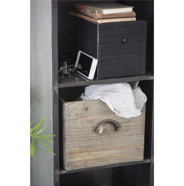 Drevený šuflík Vintage
