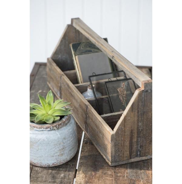 Drevený box s piatimi priehradkami Unique